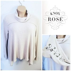 Ribbed Knit Sweater | Knox Rose | XXL